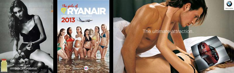 Mujer y publicidad sexista