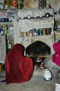 5 mujeres cocinando en Machulo