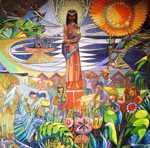 Mosaico de Peli Romarategui