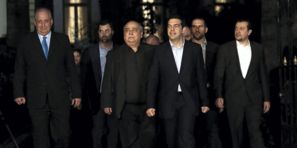 Presentación Gobierno griego