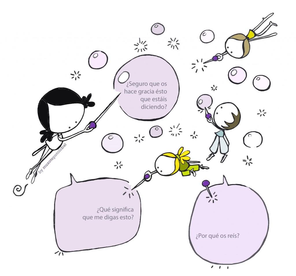 pincha la burbuja