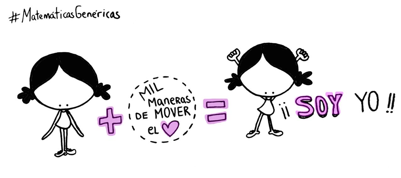 #MatemáticasGenéricas. Yo+mis mil maneras de mover el corazón, de sentir... sin recetas ni fórmulas perfectas=¡Esa soy yo!