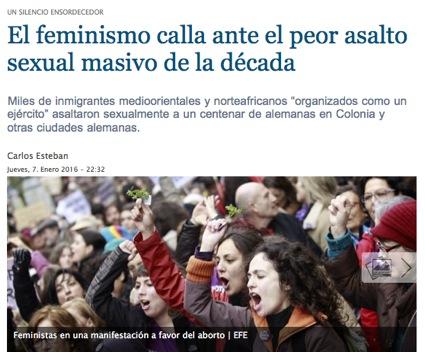 el feminismo calla