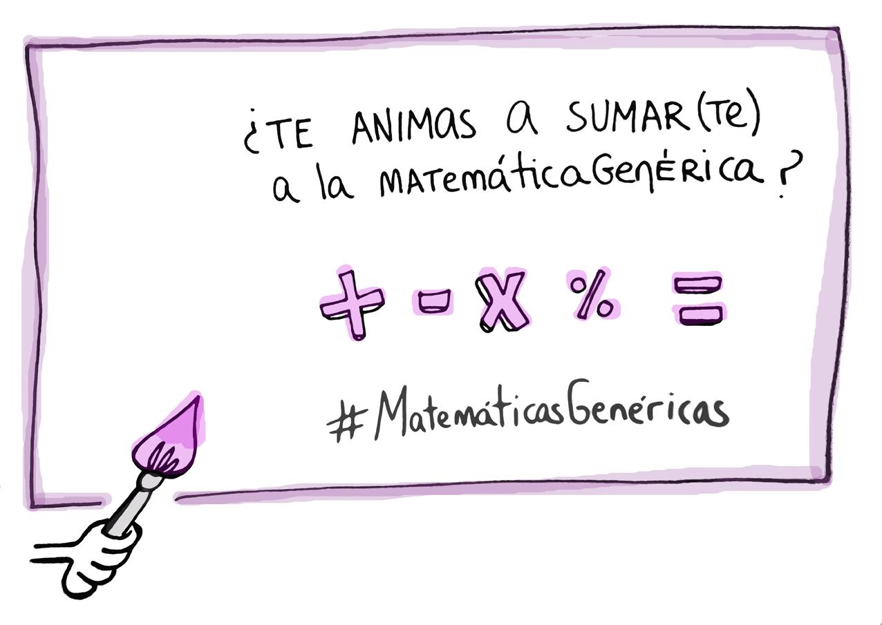 súmate a las #MatemáticasGenéricas