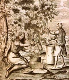 mujeres-iroquesas-trabajando